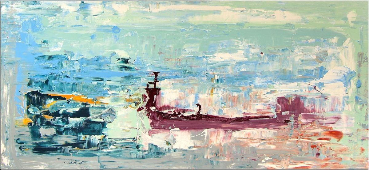 Gemälde von Noah de Jong Der Geist des Ozeans