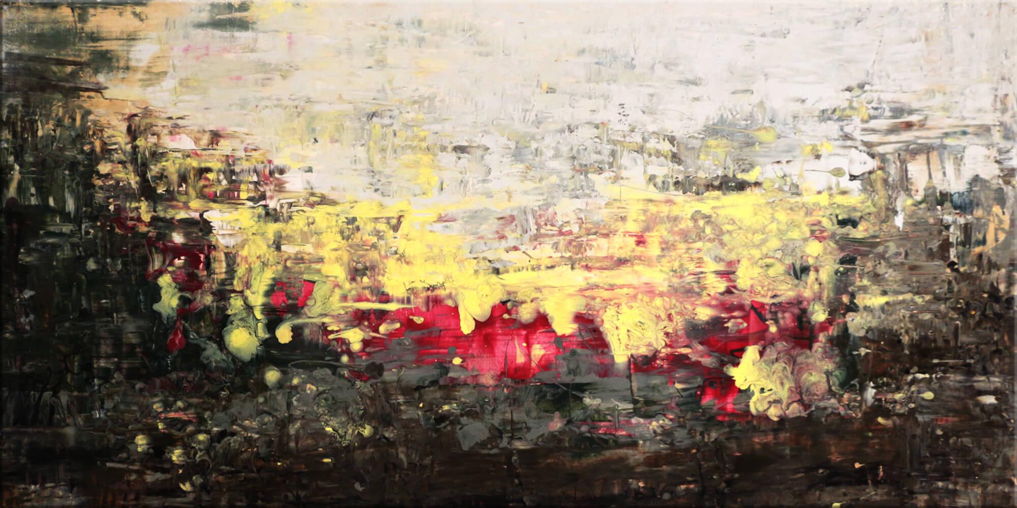 Original Gemälde von Noah de Jong Tanz der Elfen
