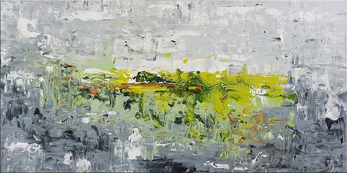 Original Gemälde von Noah de Jong Irischer Nebel